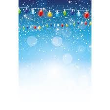 Light Backdrops For Photography Snowy Christmas Lights Photography Backdrop