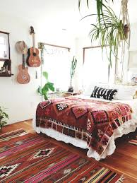 ethnic area rugs lovely chic bedroom with wood laminate floor decorated with guitar and ethnic patterned