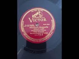 "RACHMANINOFF-KREISLER Albumblatt ""Marguerite""; Fritz Kreisler, violin; Carl  Lamson, piano; - YouTube"