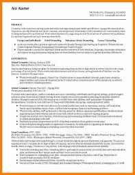 8 Counseling Resumes Prefix Chart