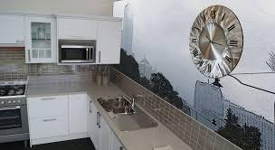 stunning artistic wall mural decor ideas for kitchen