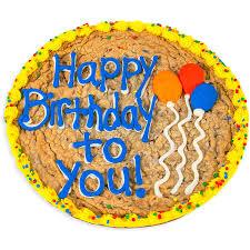 Happy Birthday Balloons Cookie Cake Hgb 8666 2 3 Day Shipping Via Fedex Ground In Woburn Ma Hillside Florist