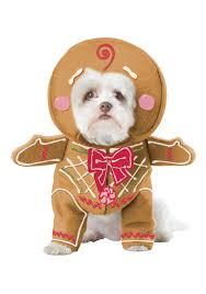 Ups Dog Costume Size Chart Gingerbread Pup Dog Costume