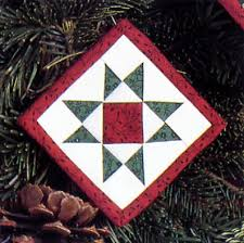 15 unexpected uses for a single quilt block - Stitch This! The ... & Quilt block ornament from Folded Fabric Fun Adamdwight.com