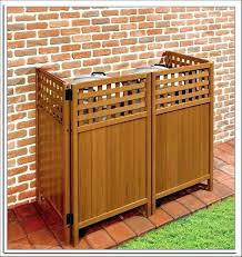 Image Hiding Outdoor Trash Can Storage Ideas Latest Garbage Holder Outside Stor New Interior Online Pictures Outdoor Trash Can Enclosure Storage Ideas Disguise Shed Tr New