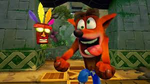 Top 10 Ps4 Games Chart Top 10 Uk Games Chart Crash Bandicoot Is A Smash Hit Once