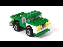 LEGO Mini Pickup Truck MOC | brickitect - YouTube