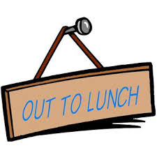 Image result for free picture of out to lunch