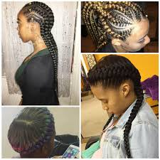 Layered Braids Hairstyles Cornrows With Braided Bangs Cornrows With Braided Bangs Layered