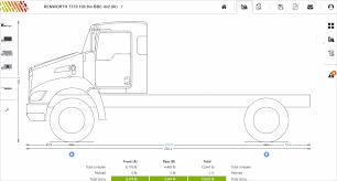 Truck Weight Chart Turning Circle Calculator Truckscience