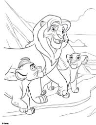 Small Picture Free Printable The Lion Guard Coloring Pages Earlymomentscom
