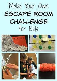 own escape room challenge for kids