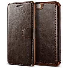 verus vrs dandy layered leather wallet case for iphone 8 8 plus dark