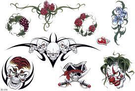 Motiv Tetování Na Pupík 743