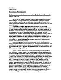 the tempest is concerned government of the self and of the   william shakespeare · the tempest page 1 zoom in