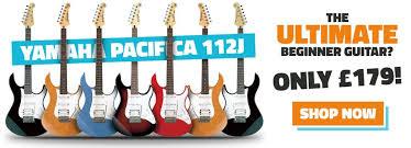 yamaha guitars. yamaha pacifica 112j guitars
