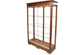 sliding glass doors 48 inch wide transitional rectangle tower display case