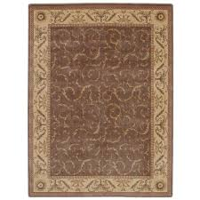 nourison somerset khaki 5 ft x 7 ft area rug