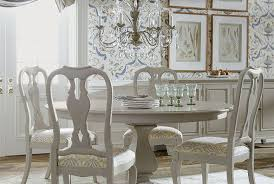 round dining room table and chairs the cameron round dining table from ethan allen is the