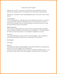 Email Cover Letter Subject Line 6 Email Cover Letter Subject Line Precis Format