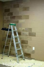 interior cinder block wall covering finish basement walls without interior cinder block wall covering basement walls
