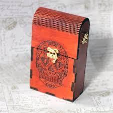 sugar skull design wooden handbag 26 00