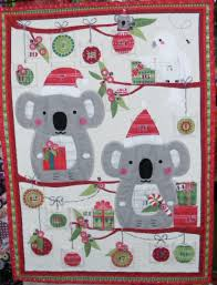 advent calander australian bush christmas advent calendar country fabrics n things