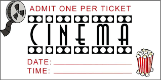 Admit One Ticket Template Free Cool Free Movie Ticket Template Studiorcco