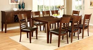 Cherry Wood Kitchen Table Sets Furniture Of America Cm3916t 78 Cm3916sc Cm3916sv Hillsview I 10