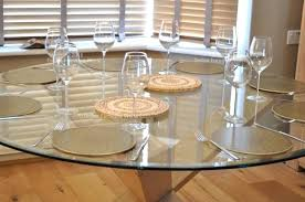 large round glass dining table round glass dining table with oak legs designs large glass top