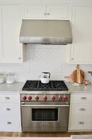 Subway Tile Backsplash Patterns Cool Backsplash Is White Subway Tile In Matte Finish Countertops Honed