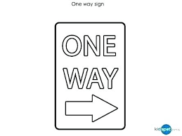 Road Sign Coloring Pages Stop Page Blank Templates Safety Signs ...