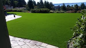 Artificial turf backyard Chip And Putt Tussingsteilcomlawn4syntheticturfnorthwest Global Synturf Seattle Bellevue Artificial Turf Lawn Installation Synthetic