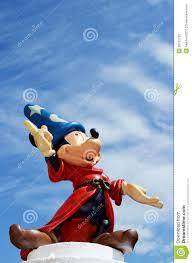 Mickey Mouse Fantasia Disney Figure Editorial Image - Image of character,  mouse: 30122735