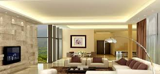 glamorous comfortable family room design come with luxury stone veneer and tv wall unit