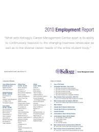 kellogg employment report final docshare tips