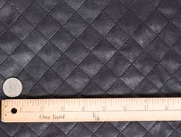 MJTrends: Black Quilted Faux Leather Fabric & Black Quilted Faux Leather Fabric Adamdwight.com