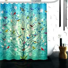 tree of life shower curtain colored