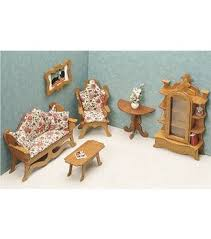 where to buy miniature furniture. Contemporary Miniature Greenleaf Dollhouse FurnitureLiving Room Set Throughout Where To Buy Miniature Furniture