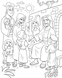 Jesus Coloring Pages For Kids Printable At Getdrawingscom Free