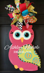 Decorative Door Hangers Profile Owl Door Hanger Door Decoration