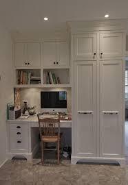 office built in. white built in for office   built-in the kitchen sliding barn door hardware pinterest kitchens, desks and j