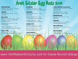 Eggs Cellent Fun In Walworth County Easter Egg Hunts 2014