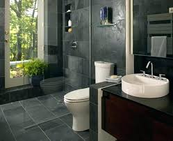 brown bathroom ideas grey and within decorations 4 walls cabinets decor dark tile