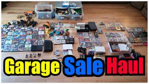 Sale On Legos Garage Sale Haul Video Games Legos Pokemon Plushies Youtube