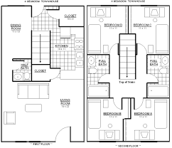 4 bedroom floor plans. House Plan Bedroom Plans With Bonus Room Photos And Video Image Three 4 Floor F