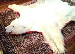 faux bear skin rugs gorgeous rug fuzzy large medium size of unique polar fake canada bear skin rug faux
