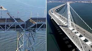 That's stronger than the 1989 loma prieta quake. The Earthquake Effect Bridging The Faults The Catastrophic Fall And Slow Rise Of The Bay Bridge After Loma Prieta Abc7 San Francisco