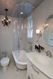 rectangular shower rod ceiling support claw foot tub wall mounted curtain with home decor intended for diy