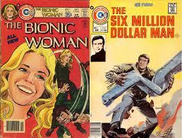 Resultado de imagem para charlton comics bionic woman